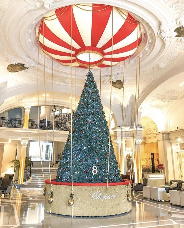 Christmas tree by Chopard at Monte Carlo